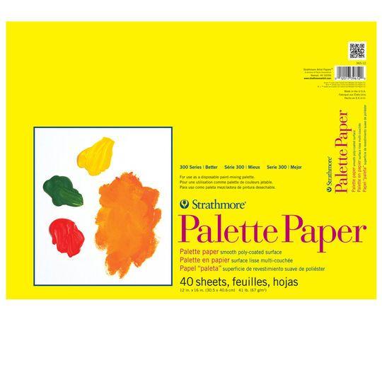 Strathmore 300 Series Palette Paper Pad 12 X 16 Michaels