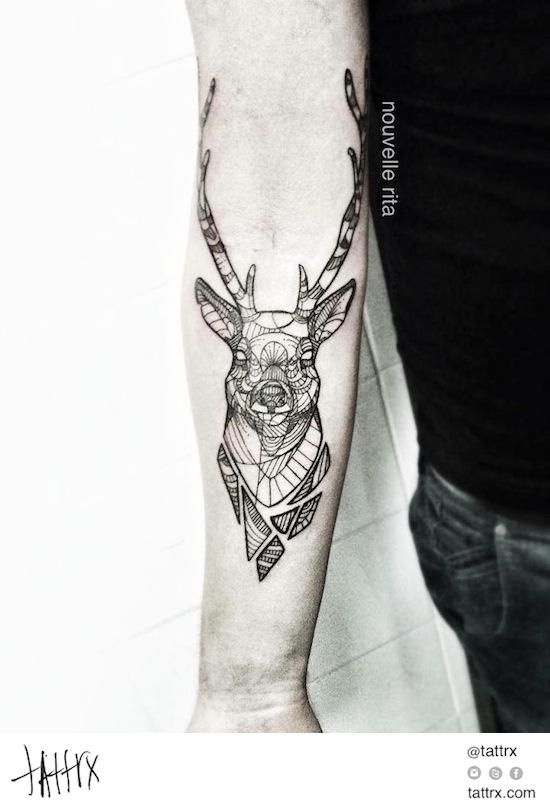 oh,deer. i'm so gonna get you on my skin. | tattoo | tatouage