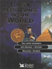 Cover of: Lost Mysteries of the World (Reference) by Reader's Digest