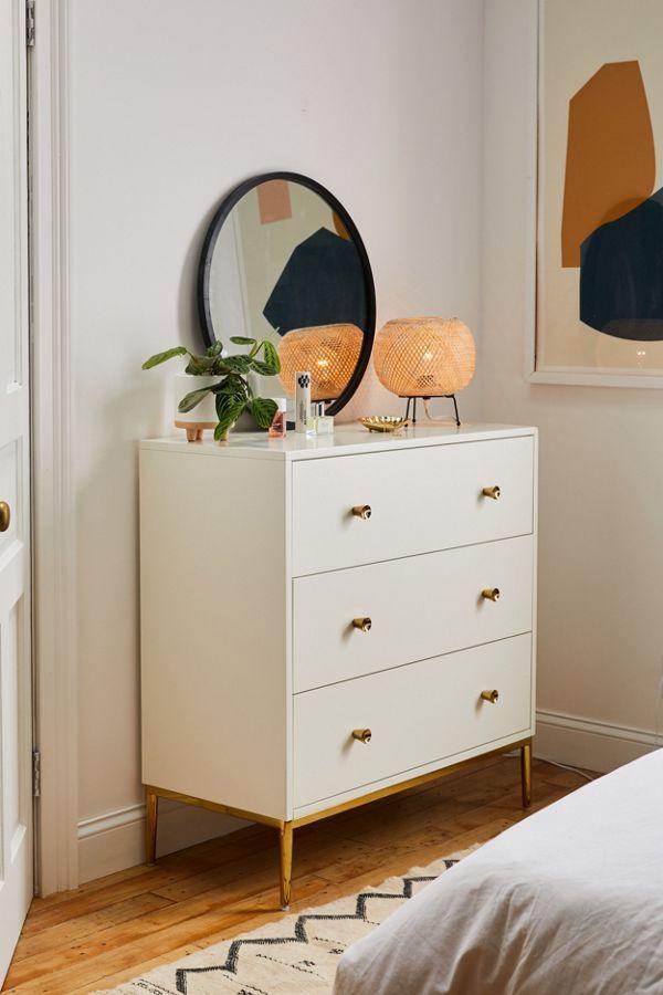 Cleo 3 Drawer Dresser Stylish Bedroom Design Bedroom Design Dresser As Nightstand