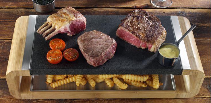 Piedra Cocinar | Steakstones Piedras De Lava Para Cocinar Http Www Cosasparatios