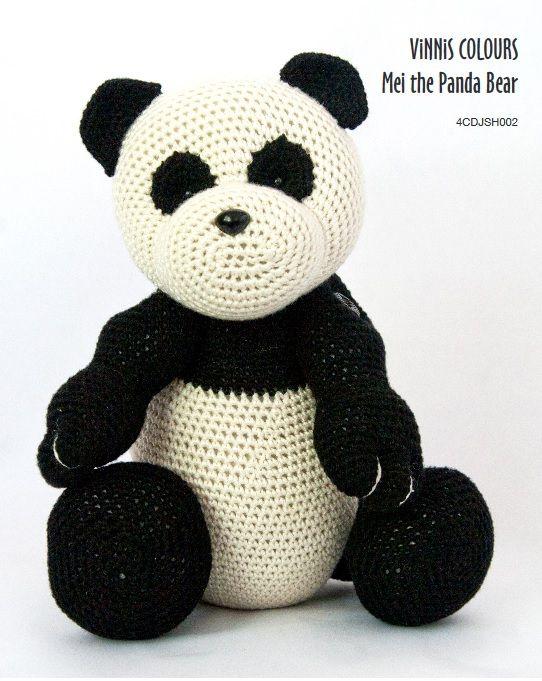 Pandabärteddytierhäkelnanleitung Kostenlos Häkelstars