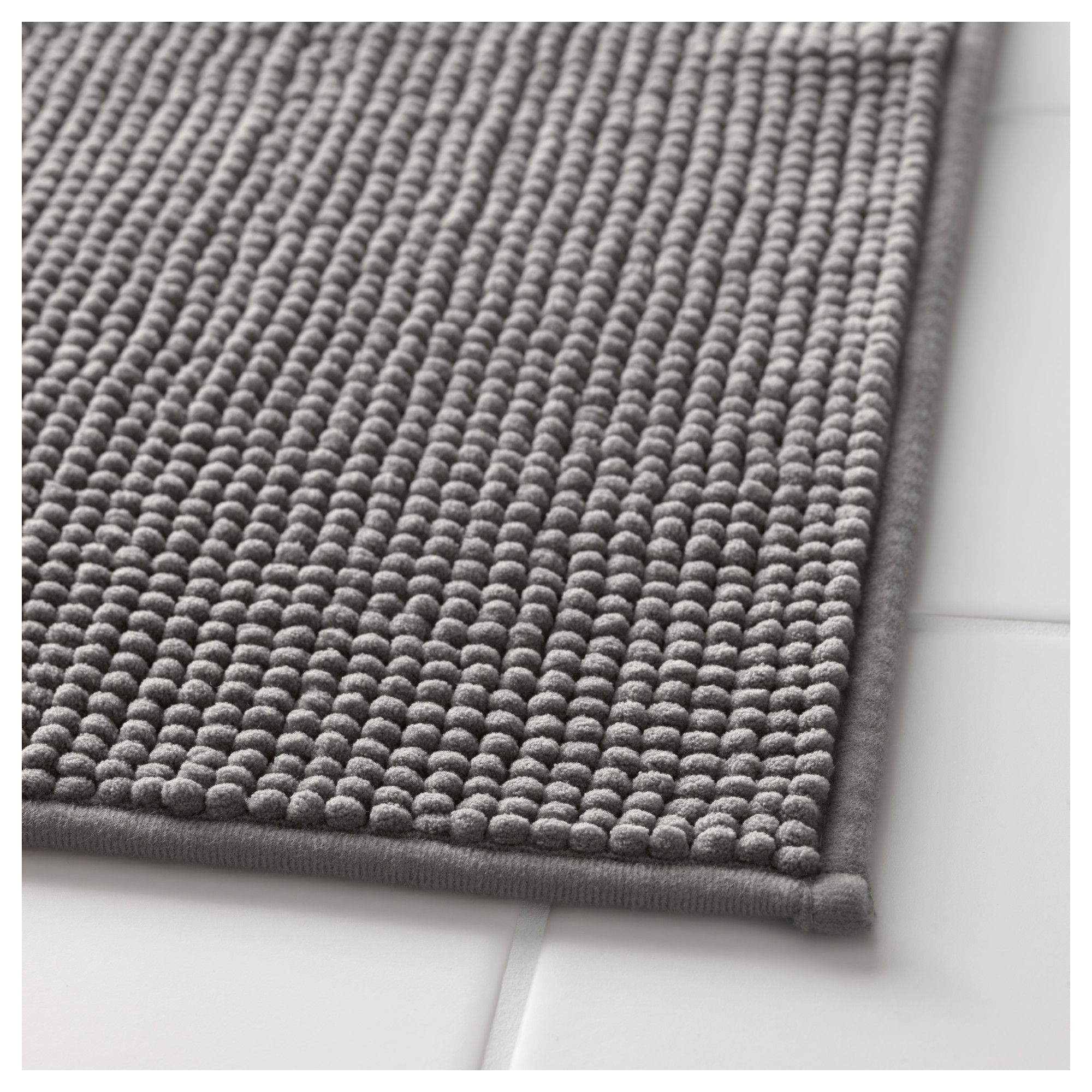 Bath Mat 100/% Cotton Bathroom Floor Rugs Oversized Thick Absorbent Charcoal