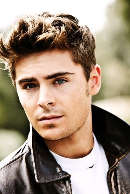 Zac Efron Hairstyle Best Zac Efron Messy Tousled Hair  Celebrity Hairstyles  Pinterest
