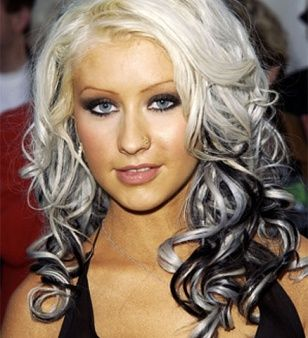 Celebrity dye job disasters hair christina aguilera and hair blonde hair colors with highlights celebrity dye job disasters beauty glamour urmus Images