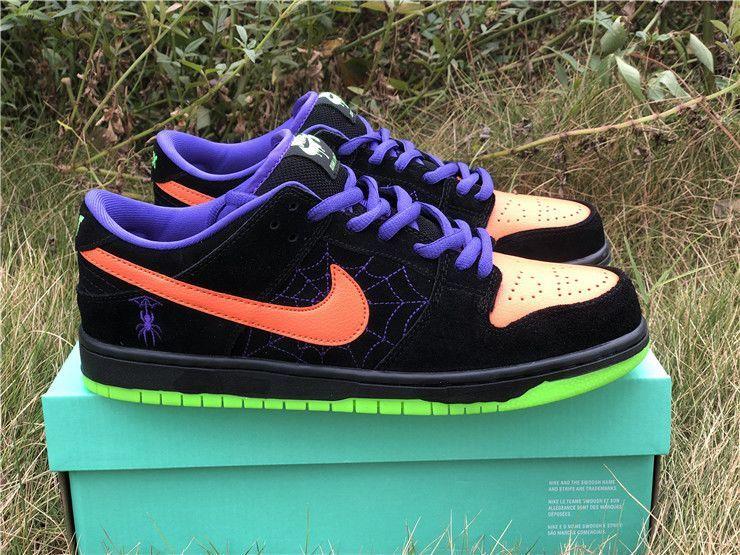 Nike Sb Dunk Low Night Of Mischief Black Total Orange Air Jordans Nike Nike Sb Dunks
