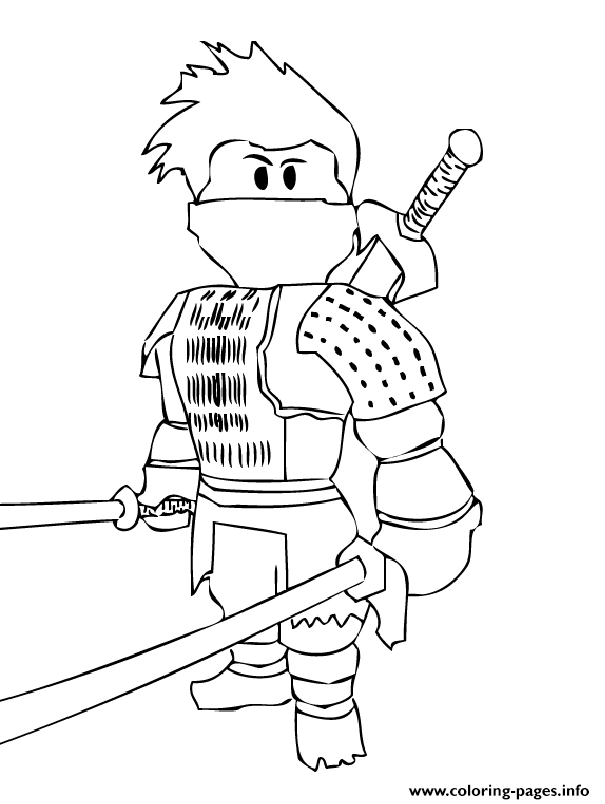 Print roblox ninja coloring pages | Smith | Pinterest | Coloring ...