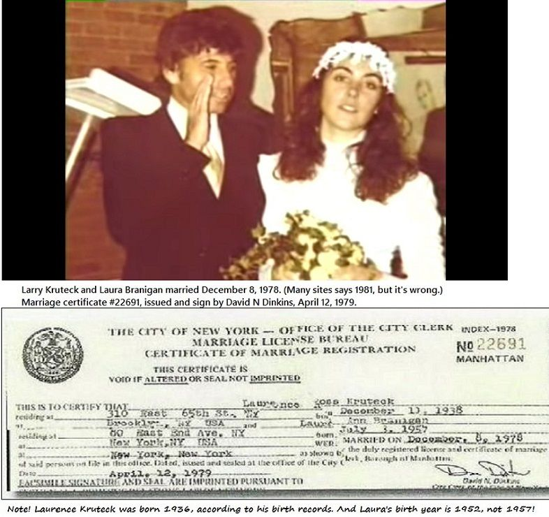Laura and Larry marriage license from December 8, 1978 #22691 - best of van nuys courthouse marriage certificate