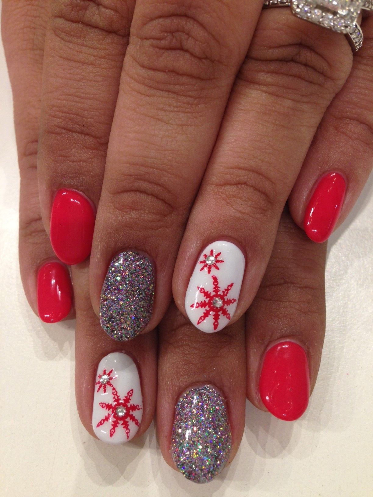 Christmas Nails: Bio Sculpture Gel colours: #96 - Summer Holiday ...