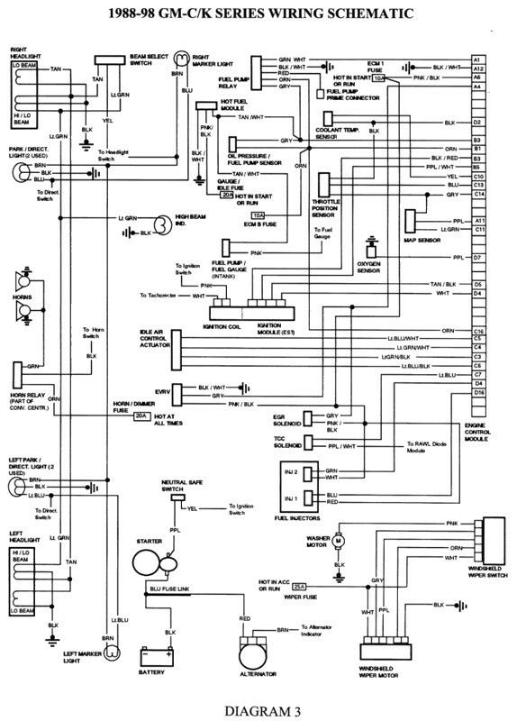 Pin by Dean Hardiman on Auto wiring (Simple to use diagrams) Chevy