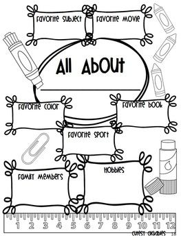 FIRST DAY JITTERS {BACK TO SCHOOL PACK WITH PRINTABLES, GAMES AND ...