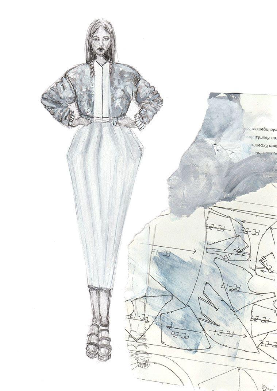 die eigene modekollektion erstellen so geht 39 s skizze pinterest mode illustration mode. Black Bedroom Furniture Sets. Home Design Ideas