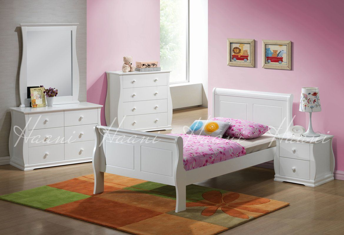 Pin by puzl on تخت White twin bedroom set, Twin bedroom