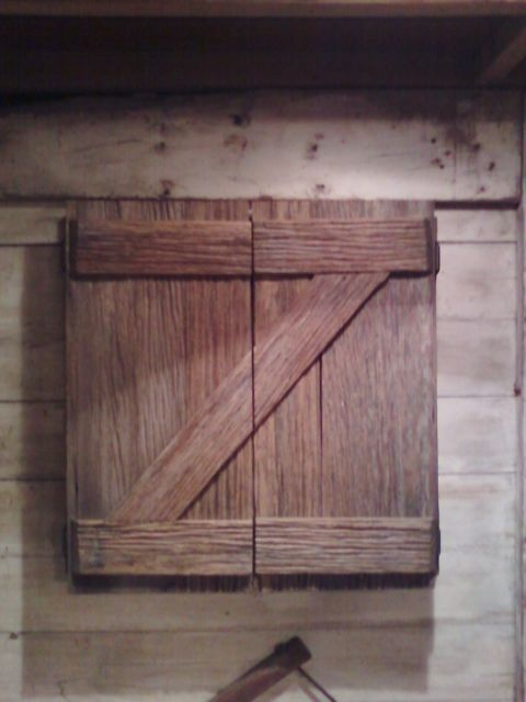 Rustic Dartboard Cabinet Made From Recycled Wood Pallet | Things ...