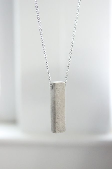 Polished concrete necklace diy learn how to make a for Learn to draw jewelry