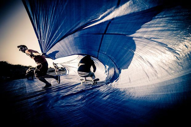 Tarp Surfing by The Observatory