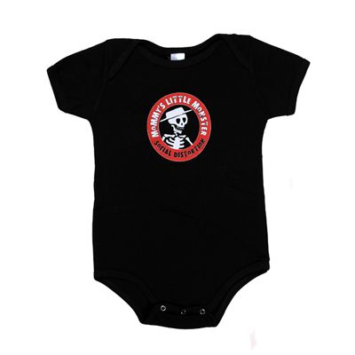 64f62b11c Social Distortion - Mommy's Little Monster Onesie | Baby Clothing ...