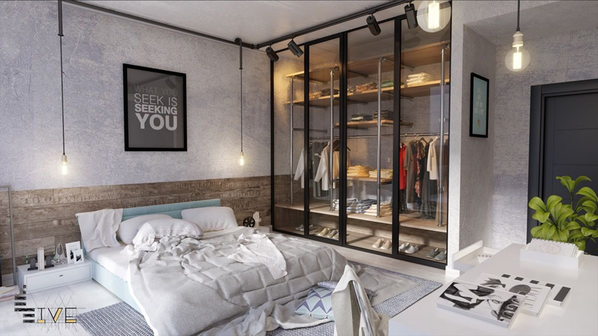 Your Bedroom Will Look Amazing With Industrial Design and Decoration Ideas
