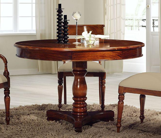Mesa comedor redonda - Decoracion mesa comedor ...