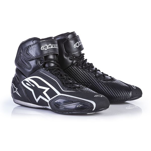 Alpinestars Faster 2 Black Silver Shoes