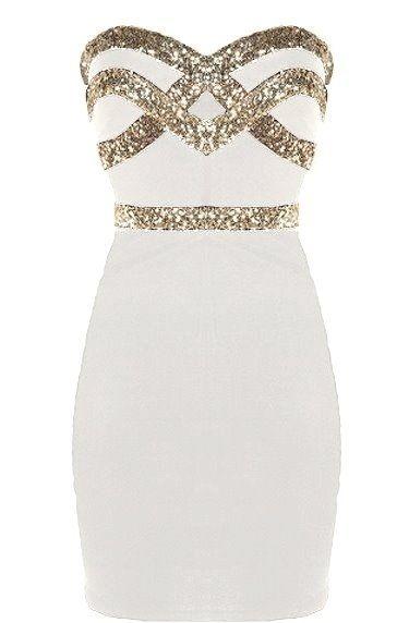 37e335b851d White Diamond Dress  Features an ultra feminine sweetheart neckline ...