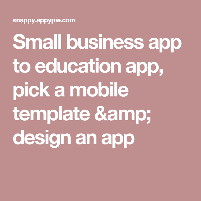Pay Advice Template Endearing Small Business App To Education App Pick A Mobile Template & Design .
