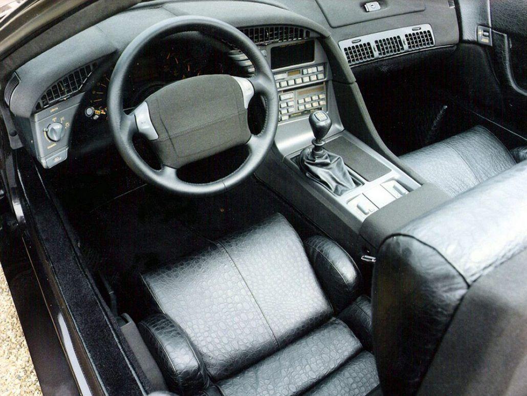Interieur auto  Robert Jankel Design Tempest 1991 basée sur une Chevrolet Corvette ...