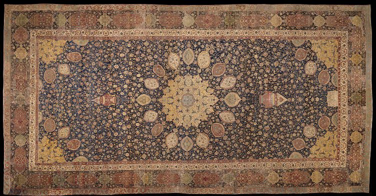 The Ardabil Carpet Carpet V A Search The Collections Ap Art History 250 Islamic Art Ap Art
