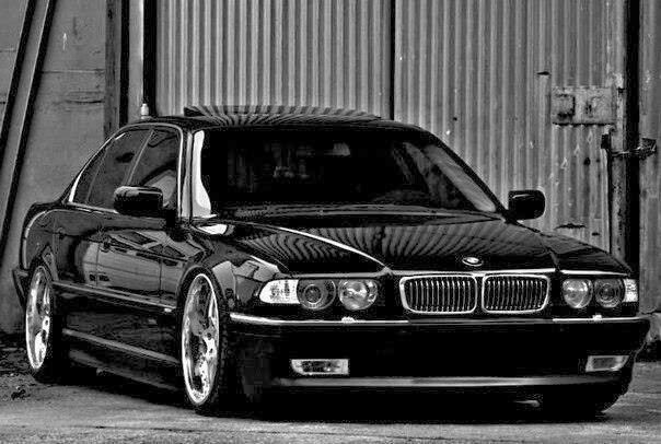 bmw e38 7 series black the ultimate driving machine bmw bmw e38 bmw cars. Black Bedroom Furniture Sets. Home Design Ideas