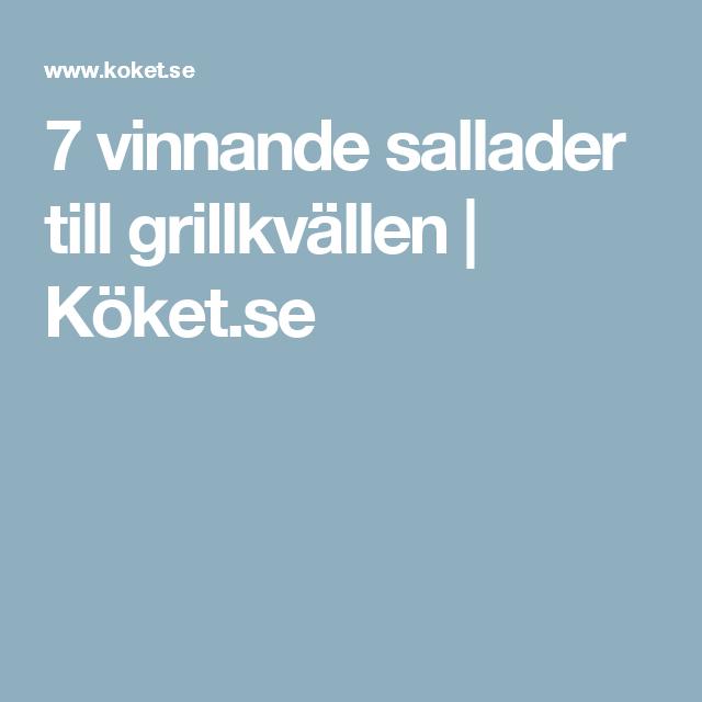 7 vinnande sallader till grillkvällen | Köket.se