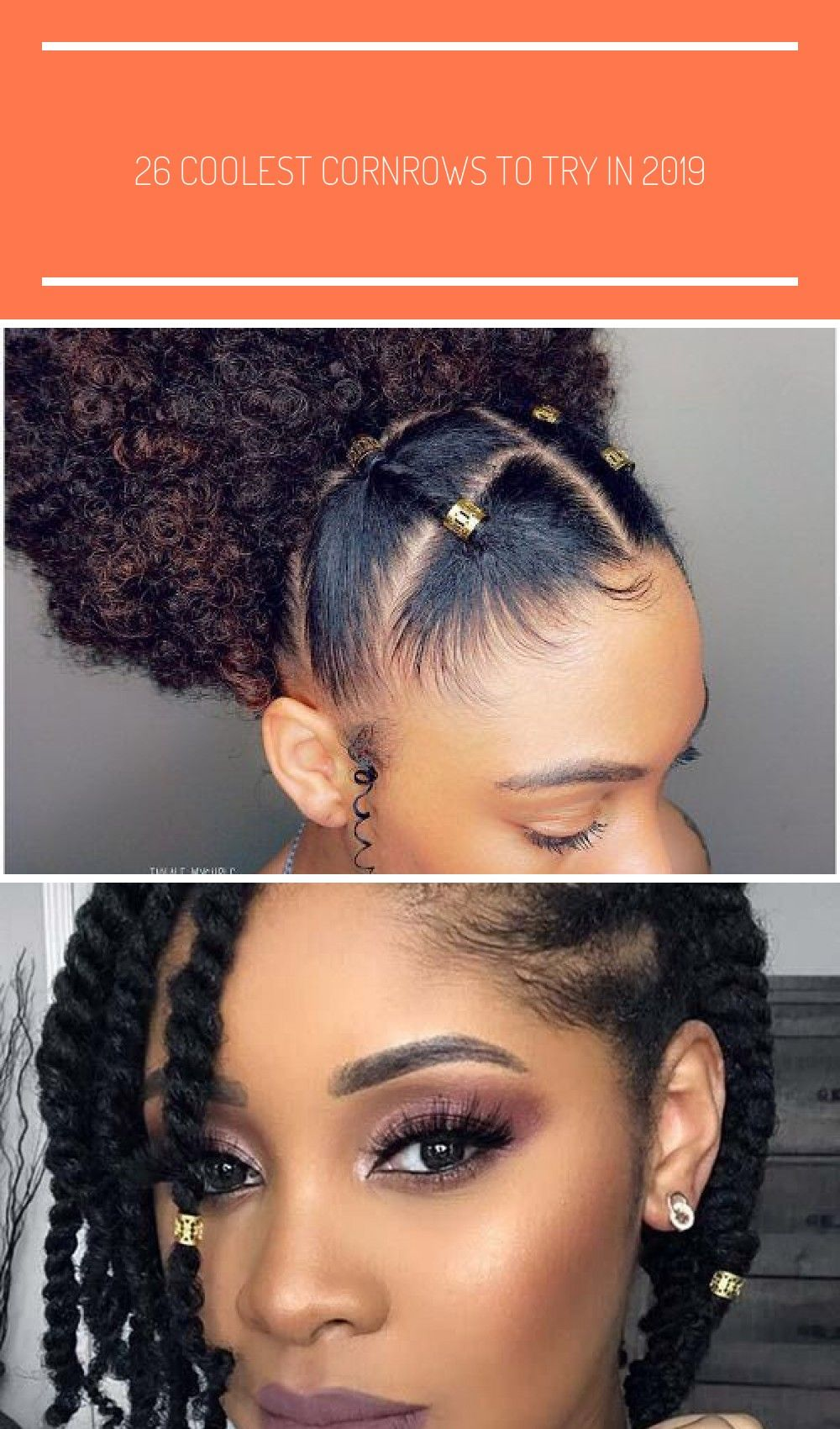 17 Best Natural Hairstyles for Black Women to Try hairstyles 26 Coolest Cornrows to Try in 2019