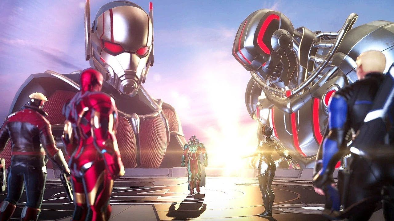 Ultron Ultimo Boss Fight Marvel Ultimate Alliance 3 The Black