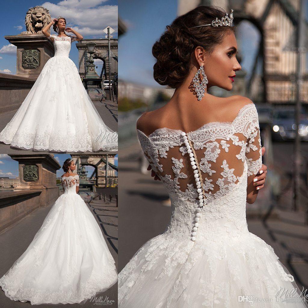 Hochzeitskleid Schulterfrei (mit Bildern)  Hochzeitskleid