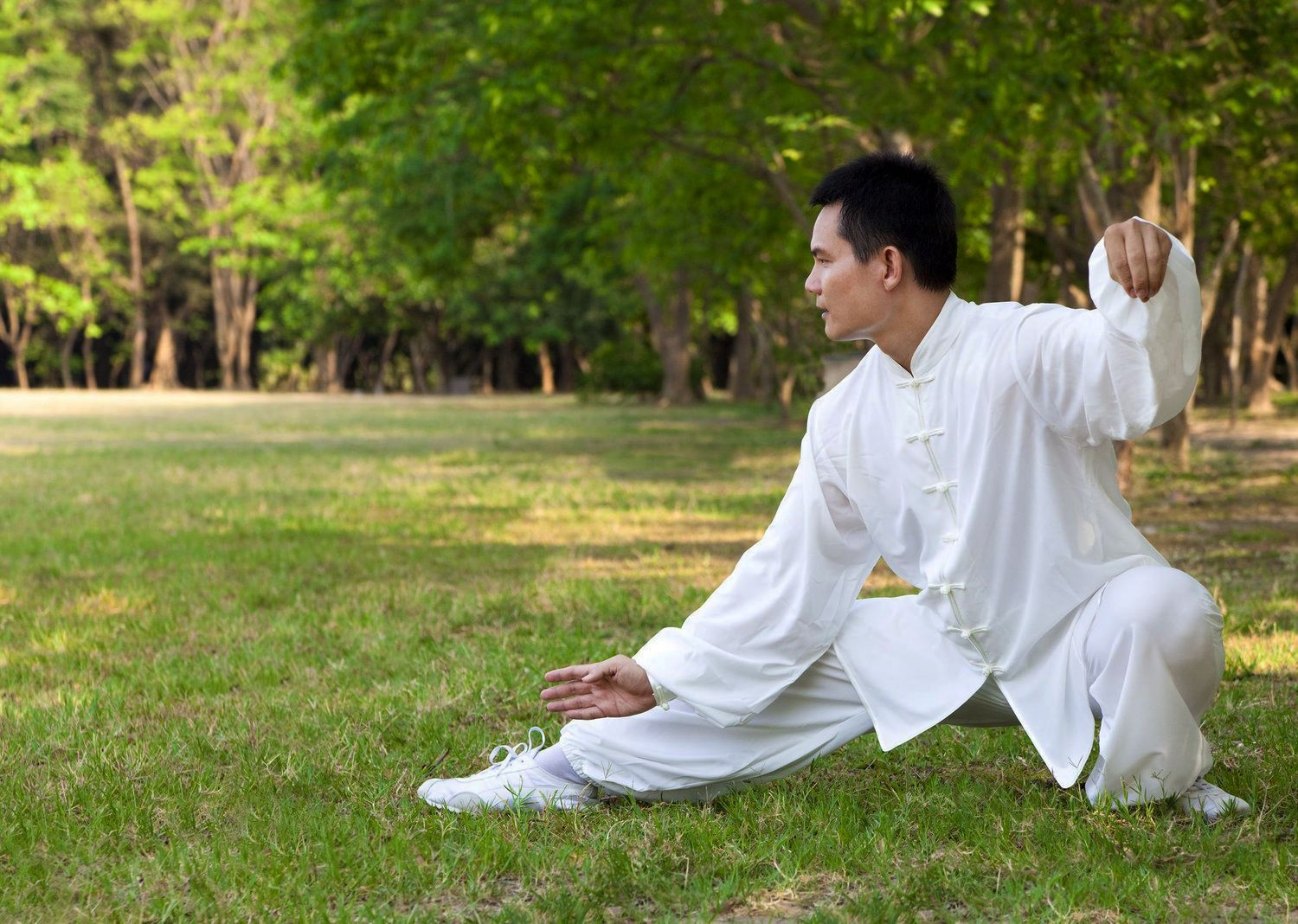 Some forms of martial arts, such as #taichi, place great emphasis on