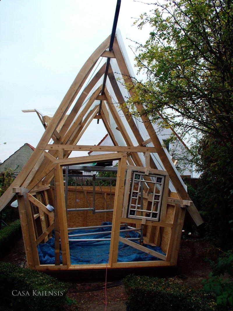 Galerie Cabane bois enfant, jardin, Plan cabane