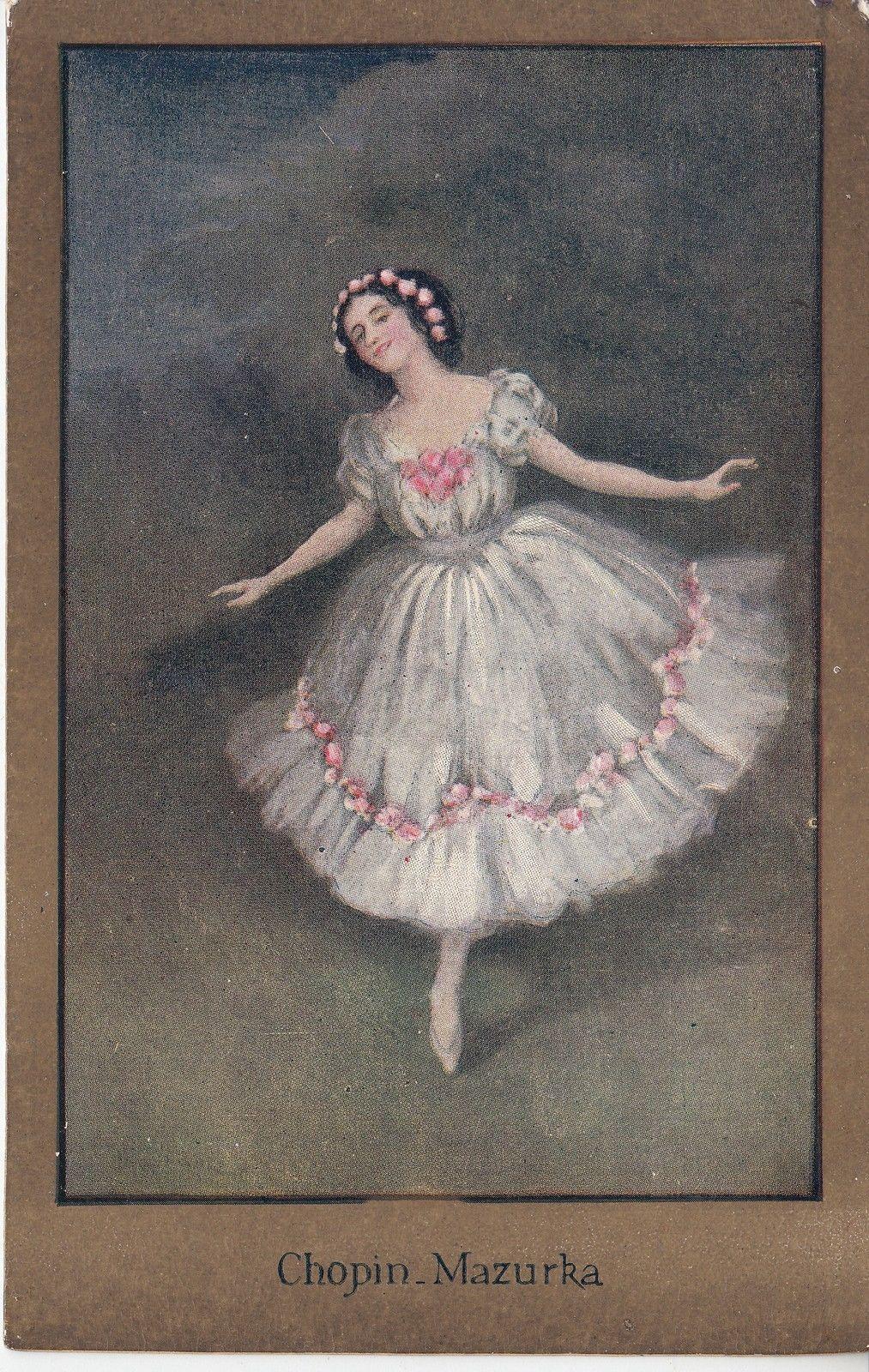 Sybil Barham: Chopin Mazurka. Memories of Pavlova Series - Ballet