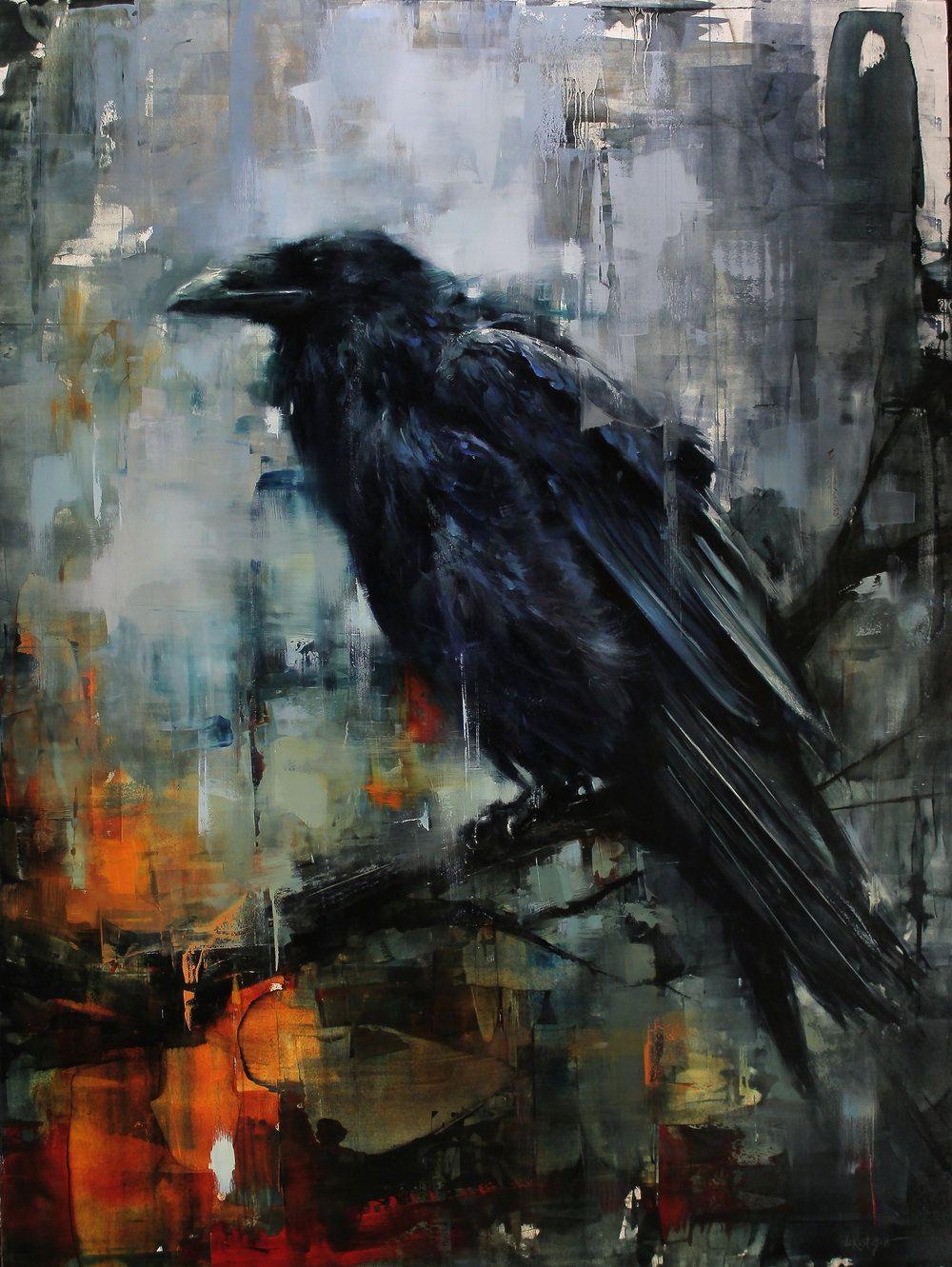 открыв картинки абстракции ворона изменился