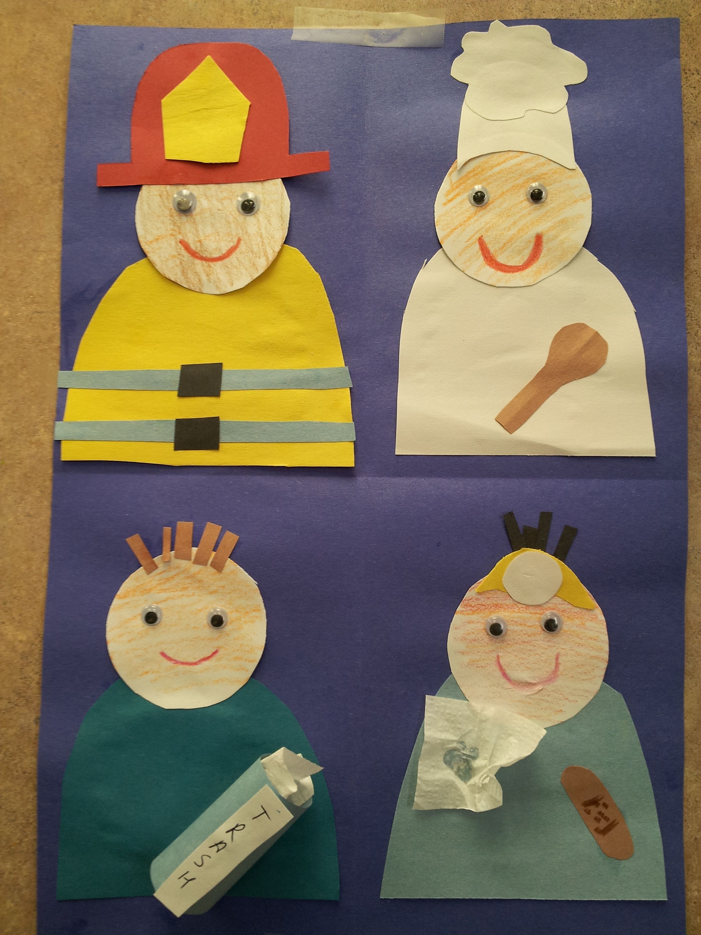 Community Helpers Preschool Crafts Preschool Art