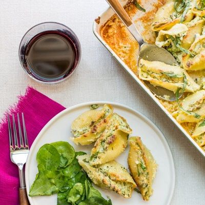 Recipe of the Month: Spinach and Cheese Stuffed Shells