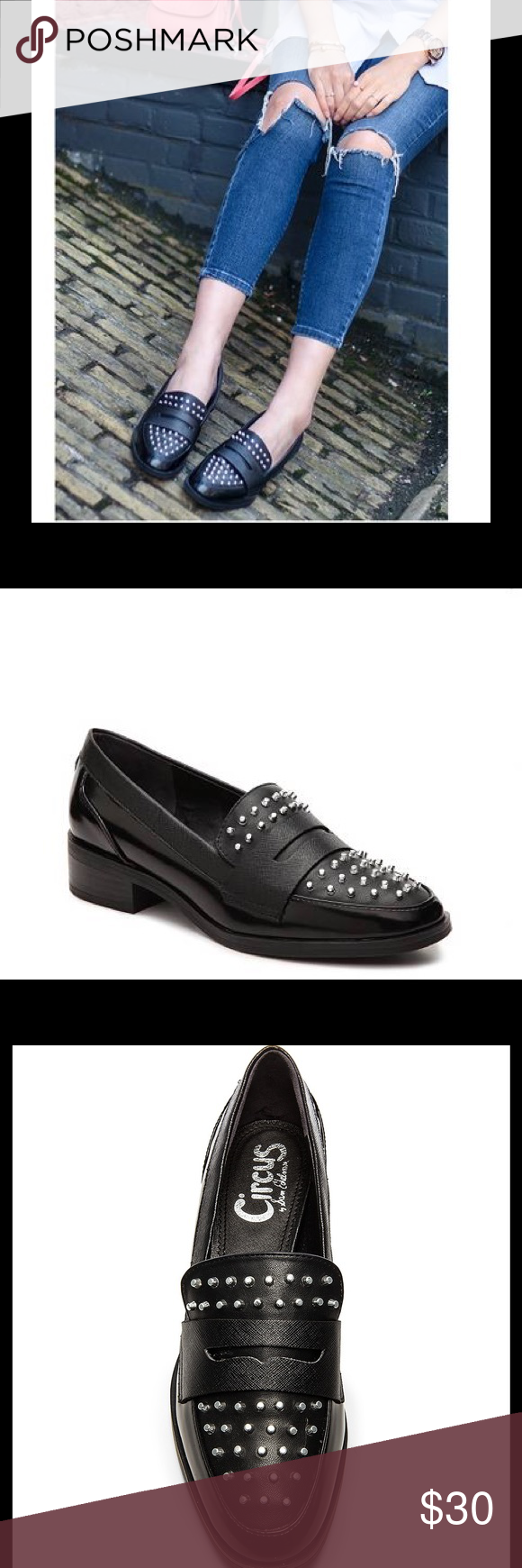 6569021e1c76b2 Circus by Sam Edelman LALI Studded loafer NWOT. Studded loafer by Circus  Sam Edelman. Style  LALI. Size  38. Synthetic leather with studded details  for an ...