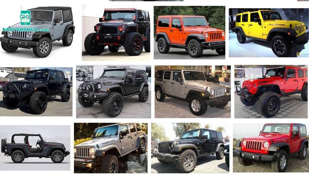 Harga Jeep Rubicon Februari Maret 2019 Jeep rubicon