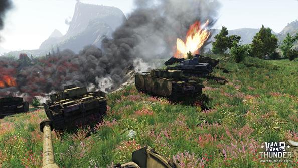 Mi amigos y me explotamos tanques.