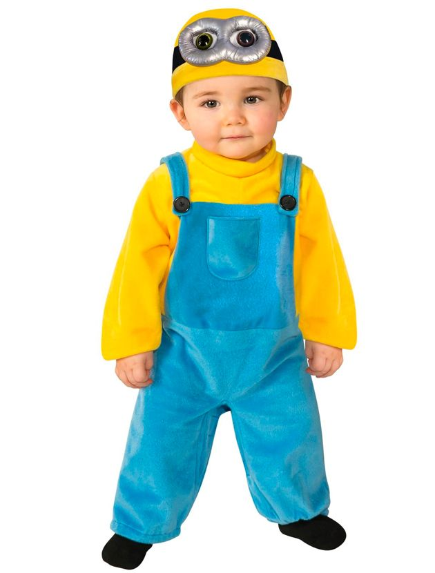 Disfraces peliculeros para los peques de la casa diy do it purchase for rubies costume co baby boys minion bob romper costume yellow years for halloween gifts idea sales for gifts idea deals solutioingenieria Images