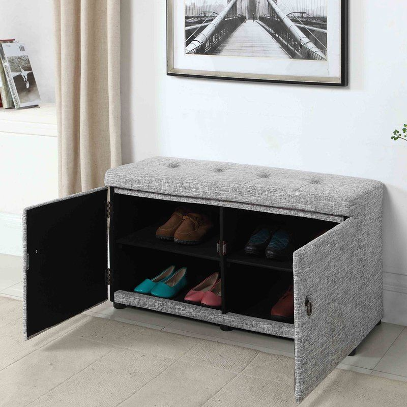 Gabriela Upholstered Shoe Storage Bench images