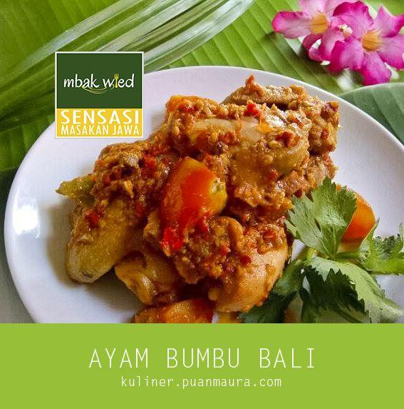 Ayam Bumbu Bali Masakan Resep Ayam Resep Makanan