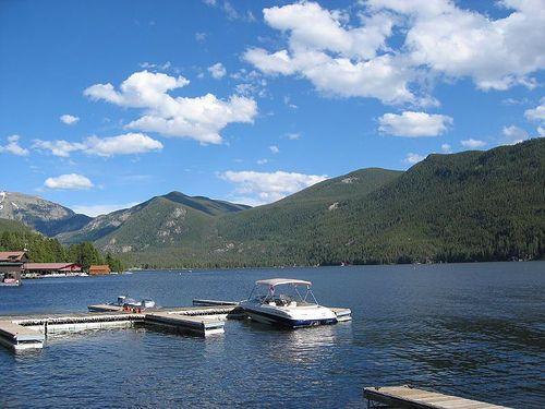 Boat docks on Grand Lake . . . www.stayingrandlake.com