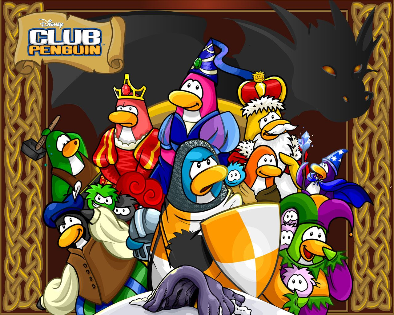 Show me more club penguin epf colouring pages - Club Penguin Wallpapers Club Penguin Help Guide