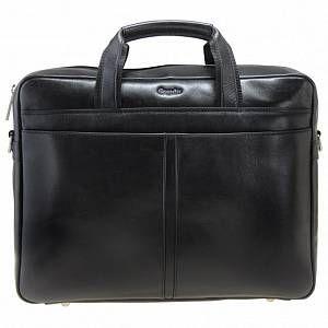 Photo of Esquire Business cartella pelle 37 cm compartimenti portatile Black