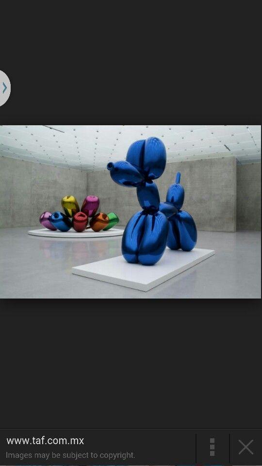Blue doggie (balloon)