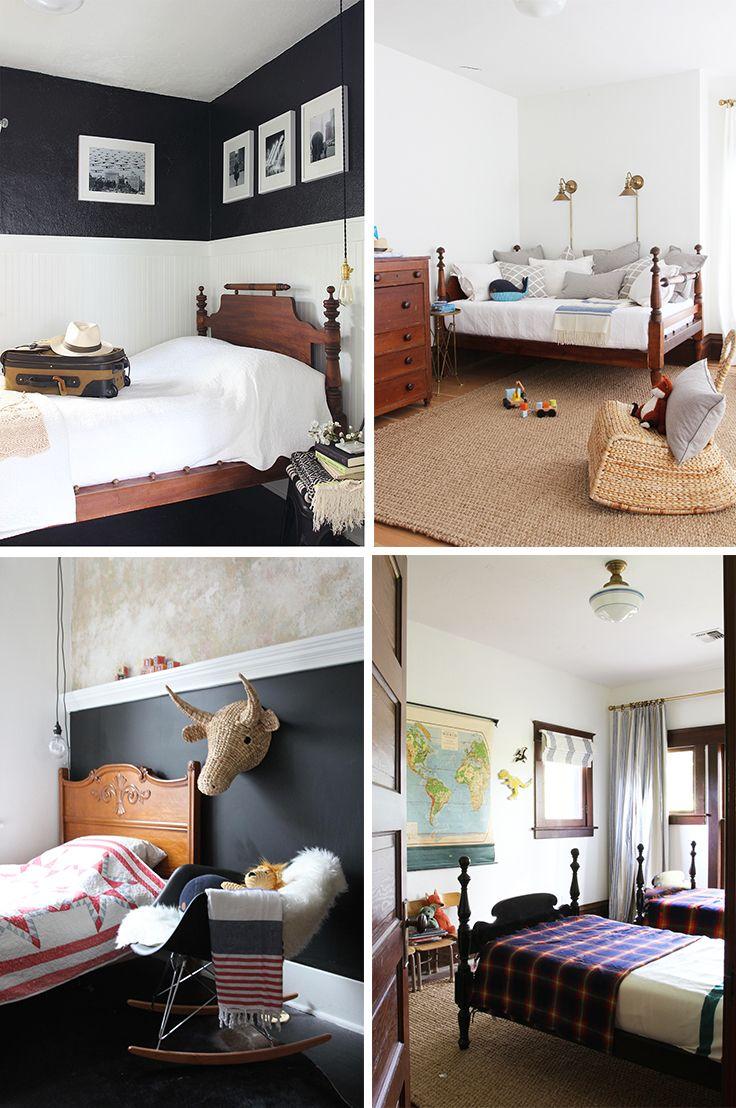 Vintage Find // A Jenny Lind Spool Bed
